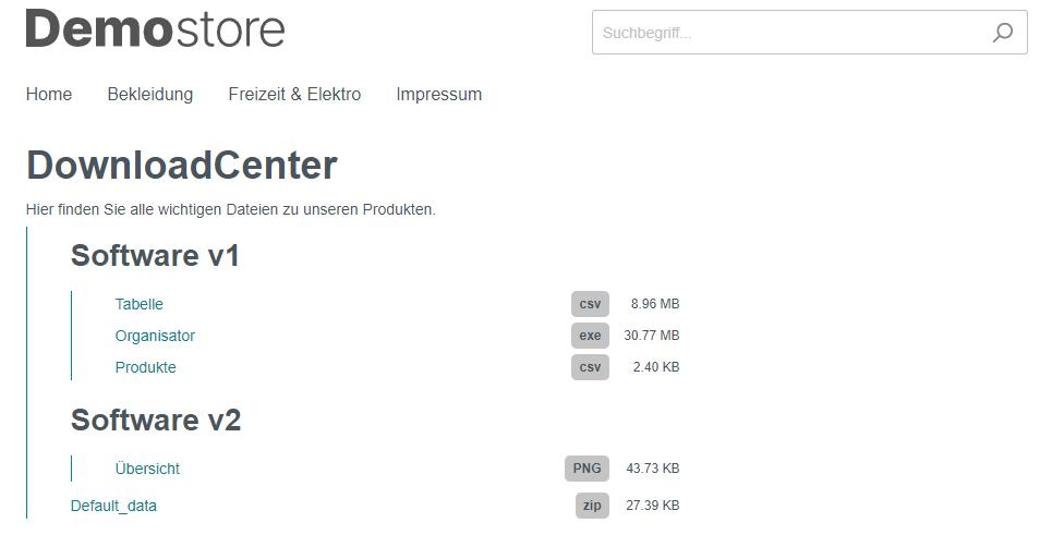 shopware-6-download-center-beispiel