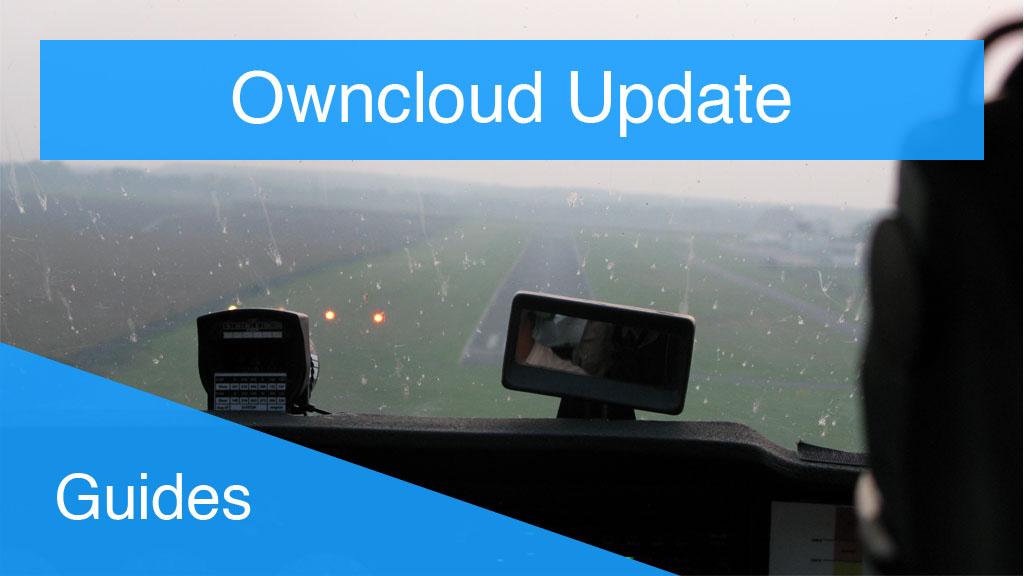Owncloud Update Thmbnail Flugzeug Landung