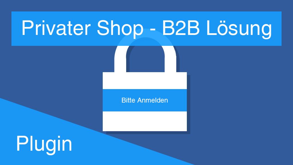 B2B Privater Shop Lösung