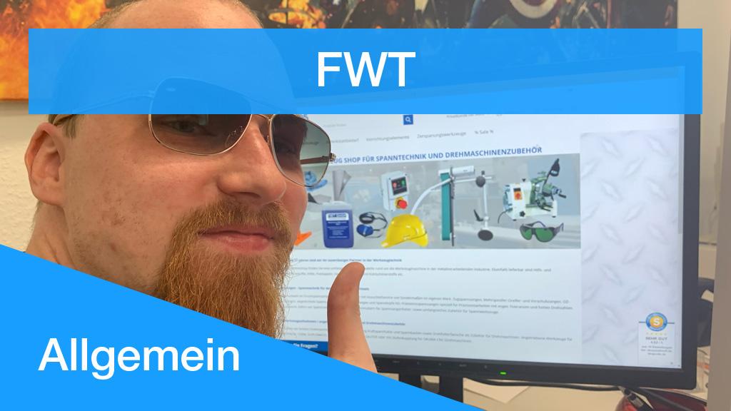 Vorstellung FWT Denis Pluntke