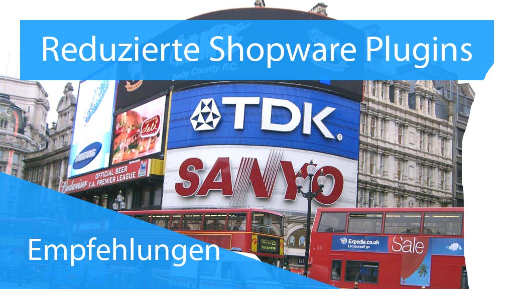 Reduzierte Shopware Plugins