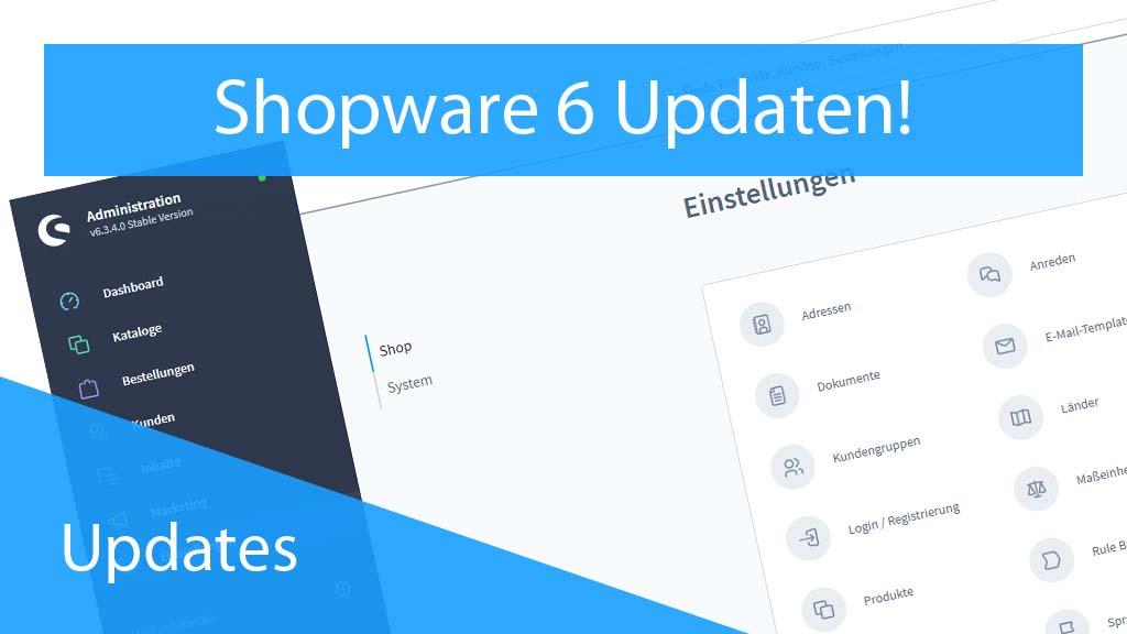 Shopware 6 updaten - Thumbnail