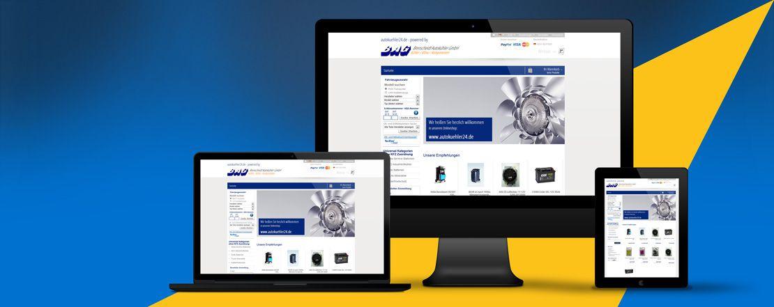 Autokühler Brenscheidt | Onlineshop für für Autokühler aus Dortmund, realisiert von den webpiloten mit Gambio.