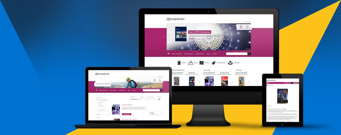 Die webpiloten realisieren den neuen Onlineshop für den Regionalverband Ruhr.