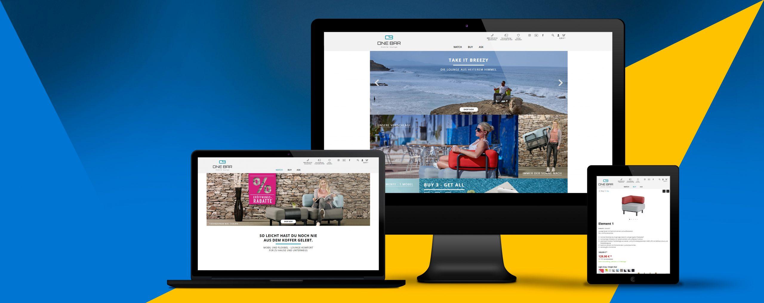 onebar-lounge.com | Die Lounge aus heiterem Himmel