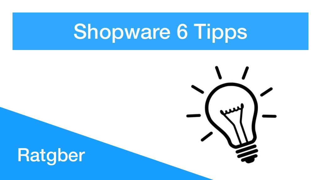 shopware-6-tipps