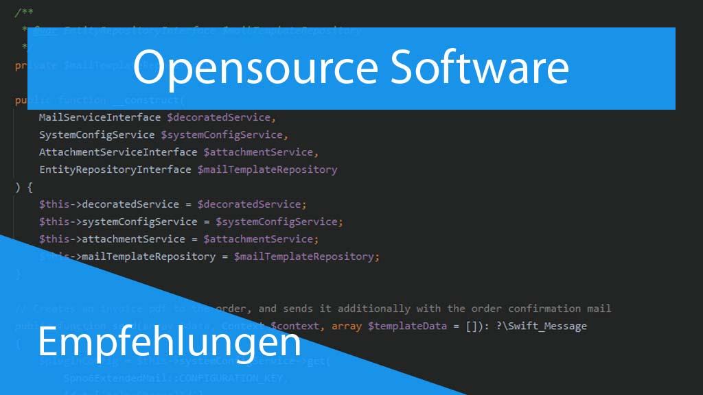 Opensource Software - Thumbnail