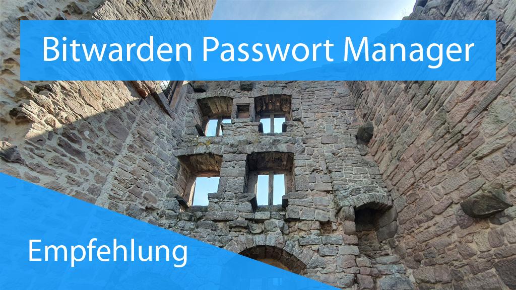 Passwörter mit Bitwarden - Thumbnail