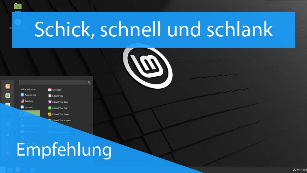 Linux Mint für den Laptop