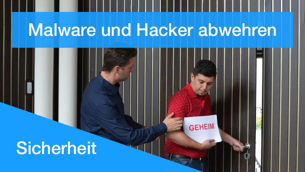 Schutz vor Malware und Hacker-Angriffen für Ihre Webseite