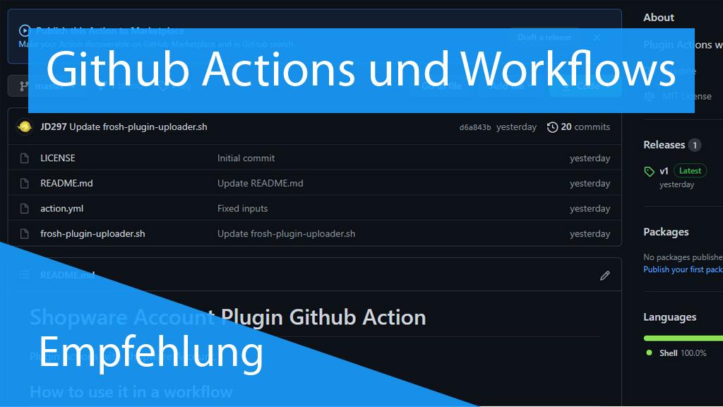 Github Actions und Workflows - thumbnail