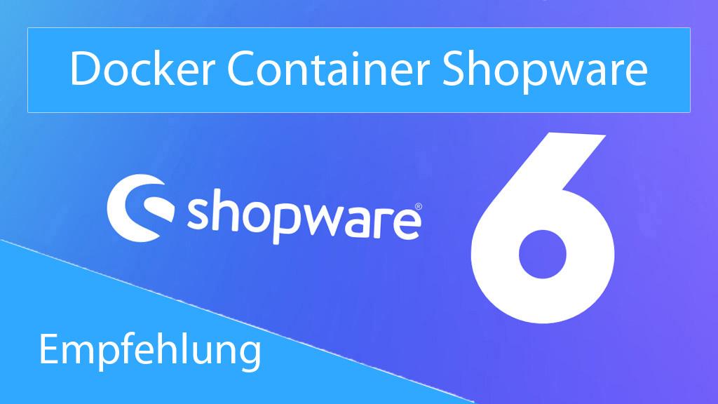 Docker Container Shopware - thumbnail